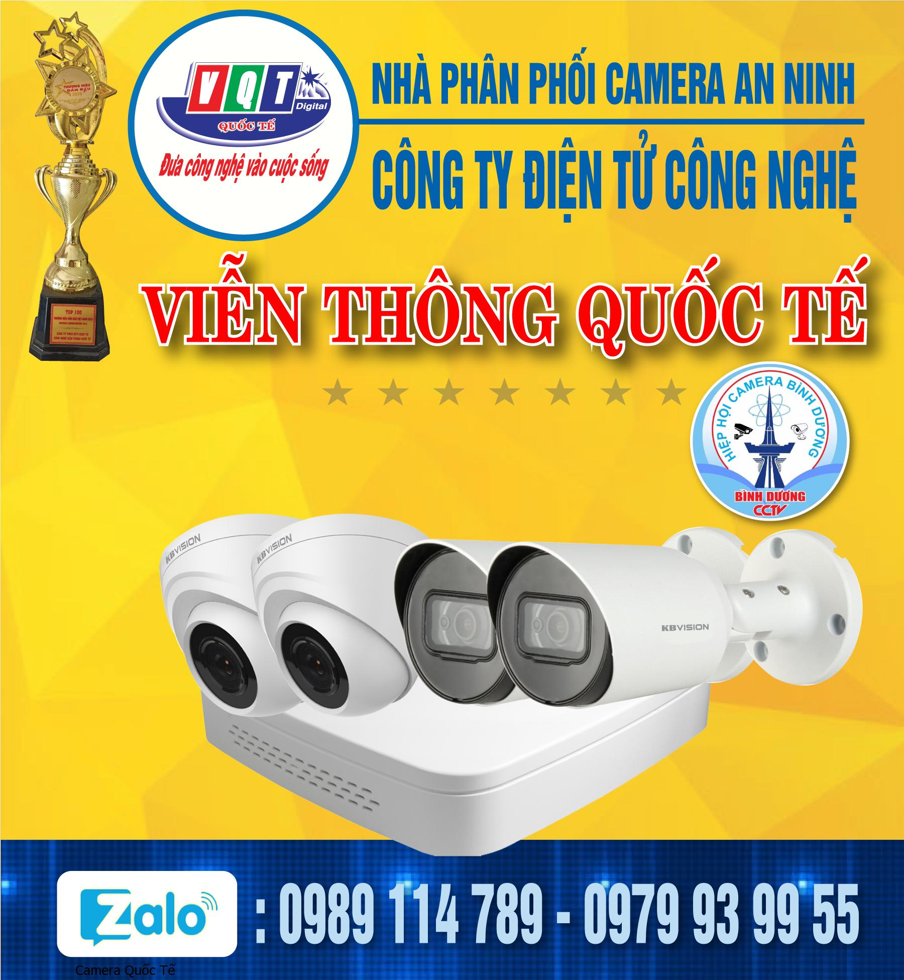 Bộ 4 camera 2.0Mp - KB379